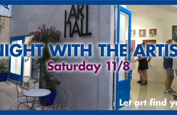 gozonews.com: Meet the artist Tomas Hed at ArtHall open evening this Saturday