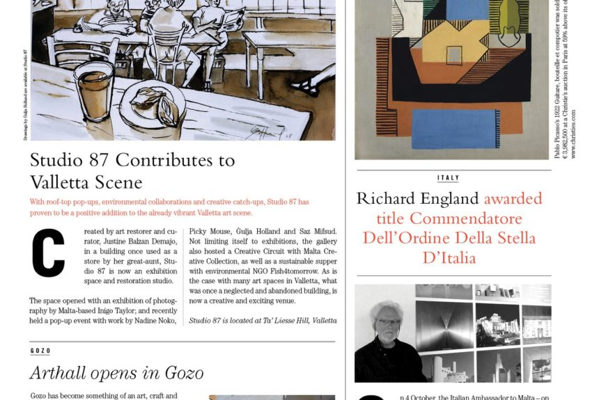 The Malta artpaper, issue 5.