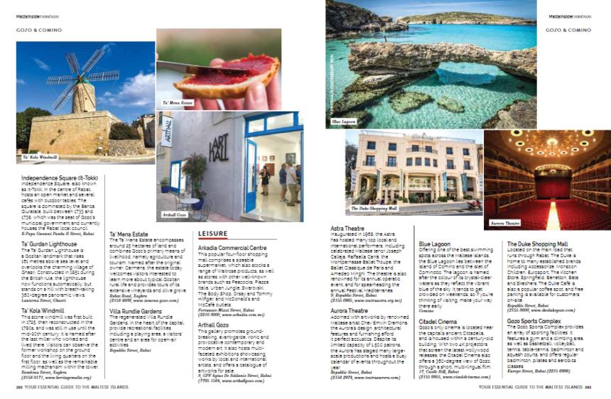 Arthall at Malta Insider, International Visitors' Guide.