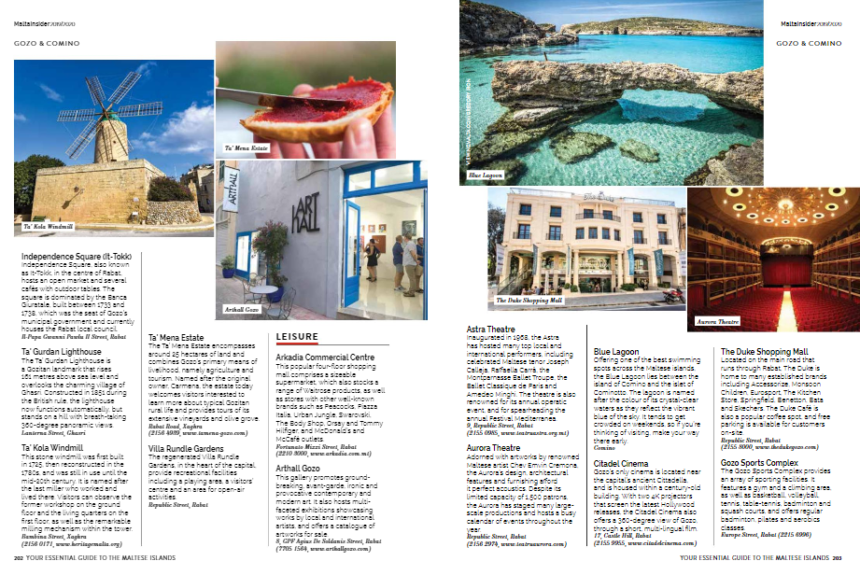 Arthall at Malta Insider, International Visitors' Guide.